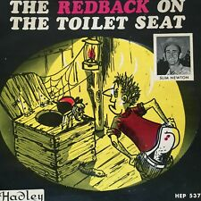 "SLIM NEWTON - - THE REDBACK TOILET SEAT - - 1971 Australian 7"" EP Oz Country"