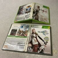 Final Fantasy XIII & XIII-2 GAME LOT Microsoft Xbox 360 COMPLETE SQUAR ENIX TEEN