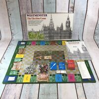 Vintage 1983 HP Gibsons Westminster The Election Game Board Game 99% Complete