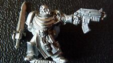 WARHAMMER 40K SPACE MARINE LIMITED EDITION CAPTAIN DRACO OOP RARE PR9