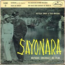 "MIYOSHI UMEKI / RED BUTTONS ""SAYONARA"" B.O. FILM 50'S EP ROCK & ROLL ! MERCURY"