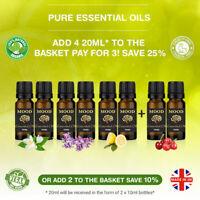 Essential Oils Aromatherapy 20ml Pure Oil Therapeutic Natural Fragrance Diffuser