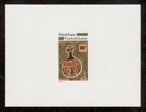 Cen. Africa Sc541 Gourd, Deluxe Proof.