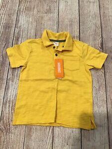 Gymboree Size 4 Yellow Polo Shirt NEW