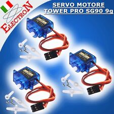 3x MICRO SERVO MOTORE TOWER PRO SG90 9g  Robot Helicopter Airplane Arduino Pic