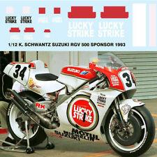 1/12 KEVIN SCHWANTZ SUZUKI RGV 500 1993 DECALS TB DECAL TBD45