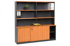 Office Wall Unit Storage Cabinets Office Shelving Units Cupbboard Furniture desk
