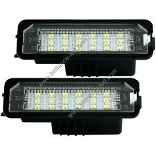 Pack module Plaque d'immatriculation Led blanc Volkswagen Golf 4 5 6 7
