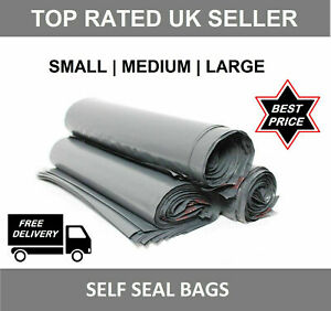 Colored MAILING BAGS small medium large extra strong seal post parcel packaging