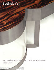 Catalogue Sotheby's Arts Decoratifs du XXe siecle & Design 22 Mai 2013 Art Deco