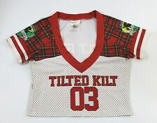TILTED KILT GIRLS FOOTBALL 03 JERSEY UNIFORM TOP/SHIRT SMALL S