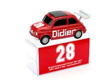 Fiat 500 Didier #28 1:43 2011 Model BRUMM