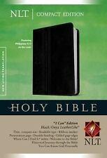 NLT Compact Bible (Black / Onyx LeatherLike) - FREE SHIPPING