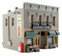 Woodland Scenics N Scale Built Up Lubeners General Store BR4925 WOOBR4925