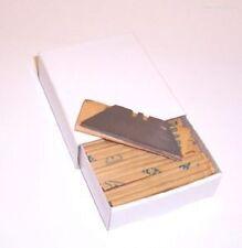 100 x MEDIUM DUTY STANLEY KNIFE BLADES MADE IN SHEFFIELD