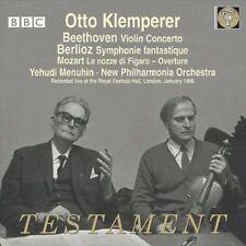 Otto Klemperer : Beethoven: Violin Concerto; Berlioz: Sym CD