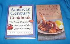 2 COOKBOOKS ~THE AMERICAN CENTURY COOKBOOK & THE BEST AMERICAN RECIPES 2003 2004