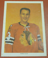 1963-65 Chex Cereals Hockey Card Photo Pierre Pilote