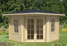 Gartenhaus Aruba 1A Blockhaus Gerätehaus Holzhaus Schuppen 320x320 cm 40 mm