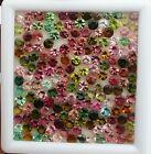 Natural Multi Tourmaline Round Cut Loose Gemstone Lot 50 Pcs 4 MM 13 CT