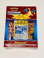 POKEMON LOT OF 2 PLATINUM SUPREME VICTORS SEALED BOOSTER PACKS POSTER AND BONUS!