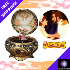 San Francisco Music Box Company Anastasia Alexandra Nicholas Classic Trinket Box