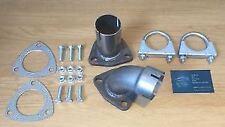 Jaguar XF 2.7D 2009- Left & Right Exhaust Repair Pipe CATALYTIC CONVERTER TO DPF