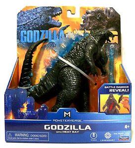 """GODZILLA"" w/ HEAT RAY Playmates Toys 6"" Godzilla vs Kong Action Figure (2020)"