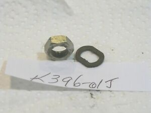 Garcia Mitchell 396 HEX NUT + KEYED WASHER 81486 USED NICE COMPLETE WORKS FRANCE