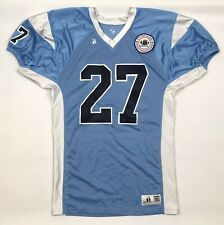 Staten Island Touch Tackle League Football Jersey Adult XL Slim Stretch Blue #27
