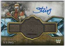 2017 Topps Legends of WWE Belt Autographs Gold AUTO /10 #ARC-ST Sting
