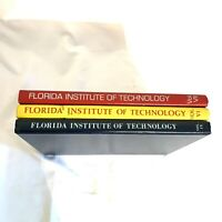 3 Vol Yearbooks Florida institute of technology Ad Astra 1974 1975 1977