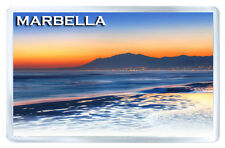 MARBELLA SUNSET FRIDGE MAGNET SOUVENIR IMAN NEVERA