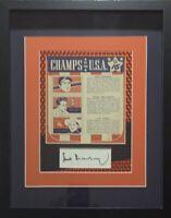 Hank Greenberg - '41 WHEATIES BOX PANEL, PSA AUTOGRAPH, CUSTOM SUPERFRACTOR MAT,