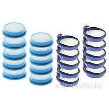 Washable Pre Post Motor Hepa Filter Kit for Dyson DC24 DC24i Vacuum Cleaner x 10