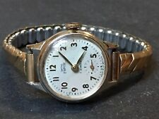 Vintage Gold Tone Smiths Empire Ladies Watch 7 Jewel Wristwatch - For Repair
