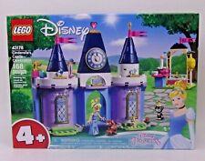 Lego Disney Princess Cinderella's Castle Celebration Building Kit 43178 168 Pc