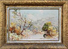 Tableau PAULA FONT  Huile sur panneau v1482