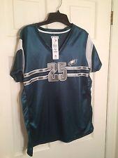 Philadelphia Eagles #25 McCoy Ladies Green Shirt/Jersey Size X-Large/NEW! #E24