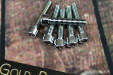 Zylinderschraube mit Innensechskant M6x30 CHROM verchromt M6 Schraube Sechskant