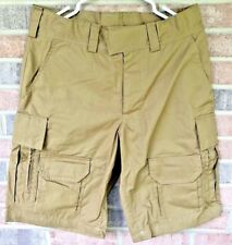"34"" Waist Arktis C411 8-Pocket Ranger Shorts Coyote Brown"