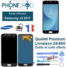 Écran complet LCD + Tactile Samsung J5 2017 Noir Qualité OLED + Outils, stock FR