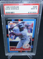 1988 Donruss Dave Winfield Graded PSA 9 Mint New York Yankees