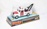 Dinky 442 Land Rover Breakdown Crane In Its Original Box - Near Mint Model