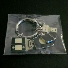 Promotional-only Nintendo DS Charm Keychain Keyring 2009 Nintendo Promo NEW RARE
