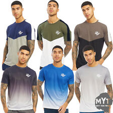 Loyalty And Faith Mens Short Sleeve Panel Stitched Contrast T Shirt Summer Tee