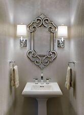 ORNATE ANTIQUE VENETIAN STYLE WALL MIRROR VANITY BATHROOM FOYER BATH NEW