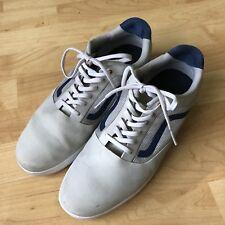c9fef64ed4 VANS Data Gray   White   Blue LXVI ULTRACUSH Men s Skate Shoes SIZE 11.5   013