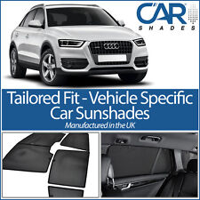 Audi Q3 5dr 2012 On UV CAR SHADES WINDOW BLINDS PRIVACY GLASS TINT BLACK