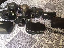 Lots collection appareils photos Canon, Olympus et Minolta en parfait état